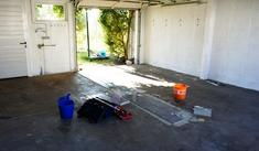 Refurbishing the garage